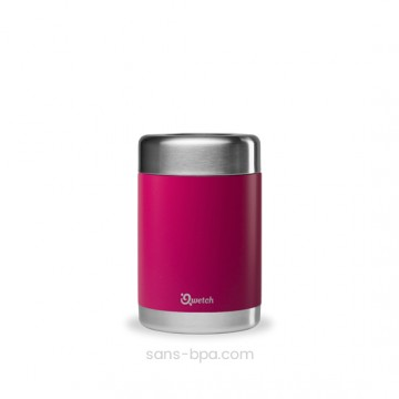 Boite repas isotherme 100% inox FRAMBOISE - 500 ml