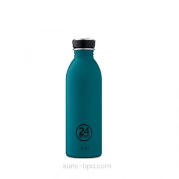 Gourde inox 500 ml URBAN - LAGOON BLUE