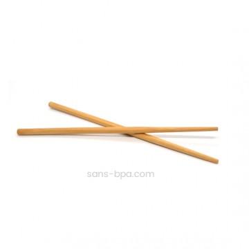 Pic PIc - 2 baguettes réutilisables en bambou