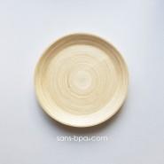 Assiette bambou 25 cm - NATUREL