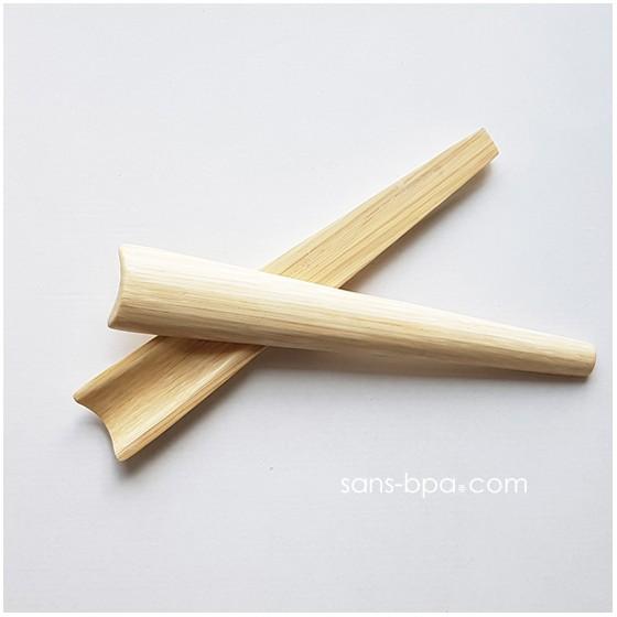 Couverts salade en bambou - TIA