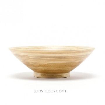 Saladier bambou 25 cm