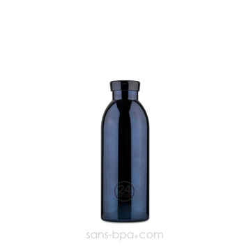 Bouteille inox isotherme 500ml CLIMA - Black Radiance