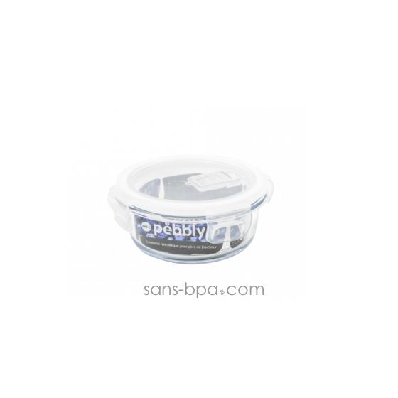 Contenant verre carré 320 ml