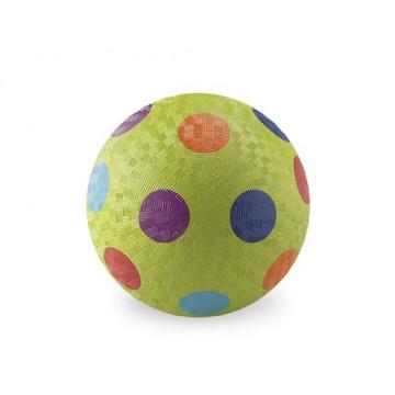 Balle caoutchouc 18 cm VERT