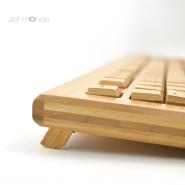 Clavier & souris sans fils en bambou