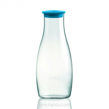 Carafe verre 1200 ml - Blue