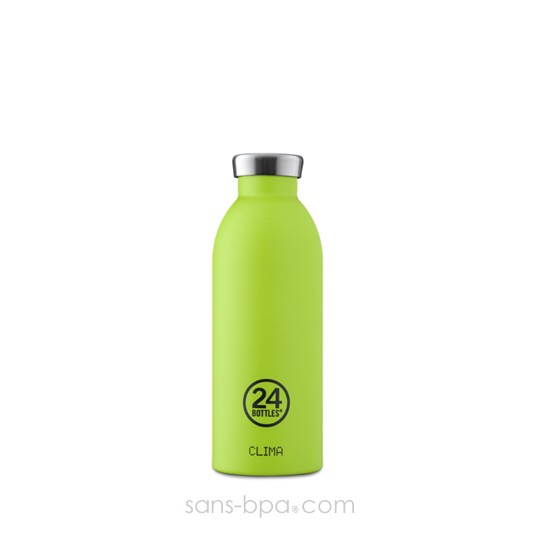 Bouteille inox isotherme 500ml - CLIMA Pistache