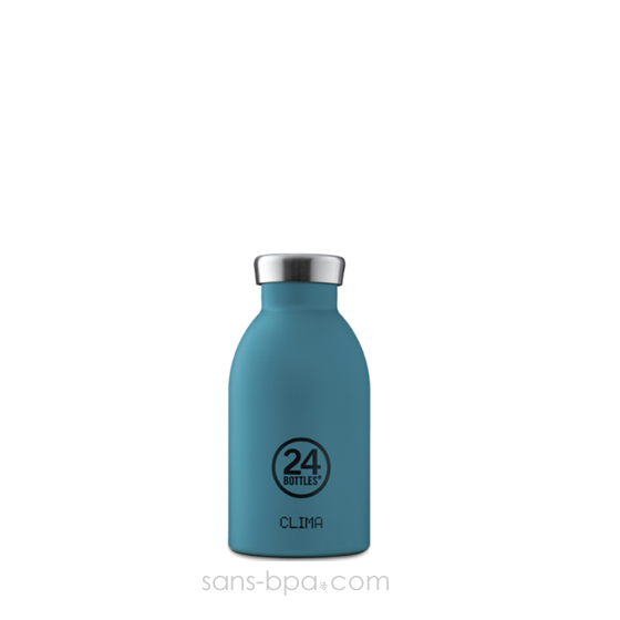 Bouteille inox isotherme 330ml - STONE ATLANTIC BAY