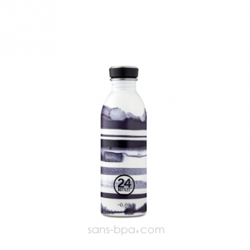 Gourde inox 500 ml URBAN - STRIPES