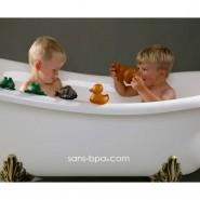 Lot 3 jeux de bain caoutchouc coloré