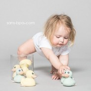 Canard de bain caoutchouc Mini Kawan VERT