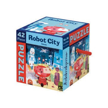 Puzzle 42 pcs ROBOTS