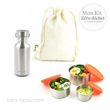 Kit Zéro Déchet - Repas léger Gloup