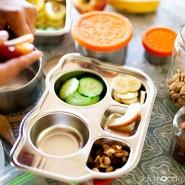 P'tit Bus - Plateau repas 5 compartiments Kids