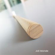 Brosse à dents bambou - CONICOLOR - Clear