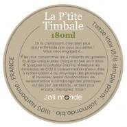 La p'tite timbale inox 180 ml - JOLI COEUR