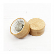 Gourde verre & silicone 550 ml BLEU