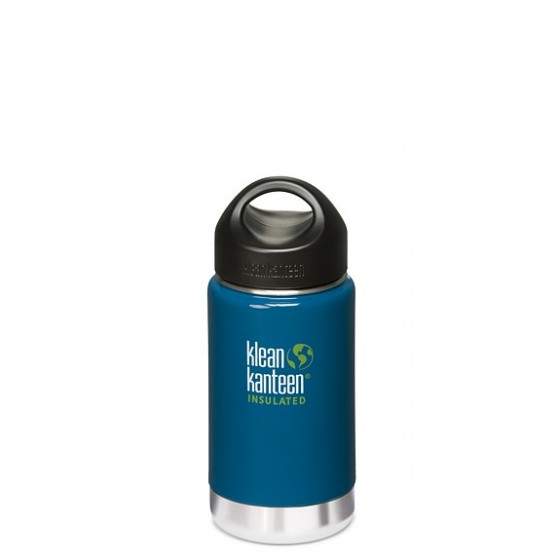 Bouteille isotherme 355 WIDE INSULATED Monterey Blue de KLEAN KANTEEN