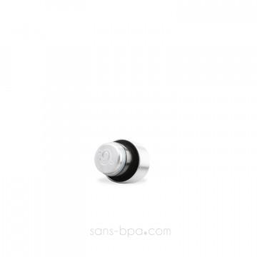 Bouchon inox / PE pour bouteille 260ml/500ml - QWETCH