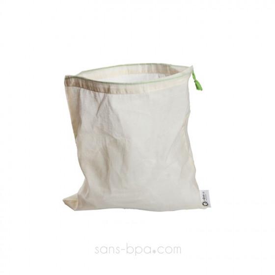 Lot 5 sacs à vrac tissus gaze - Taille L - 30 x 35