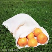 1 Sac à fruits tissu VOILE