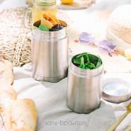 Boite repas isotherme 100% inox INOX - 650 ml