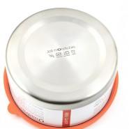 Boite inox & silicone Quadrio - Large