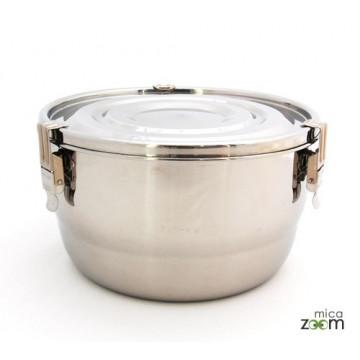 Boite inox diamètre 20cm