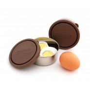 LOT 2 PETITE BOITE CHOCOLAT en inox de KIDS KONSERVE