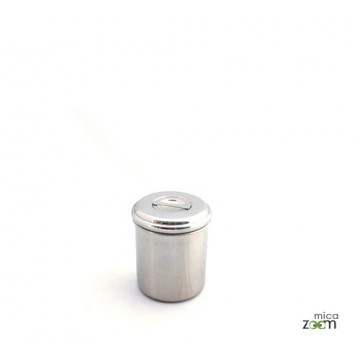 Boite cylindre 10 cm - Onyx