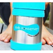 Boite repas inox isotherme - Azur - KIDS KONSERVE