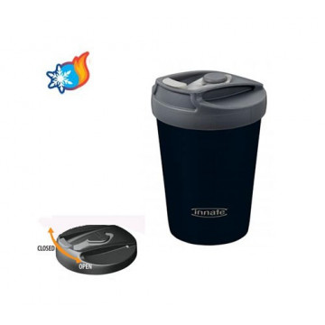 Tasse inox isolée 340 ml MIDNIGHT - Américano