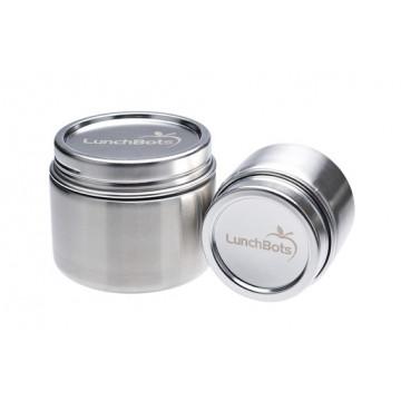 1 boite hermétique tout inox Grand modèle - LUNCHBOTS