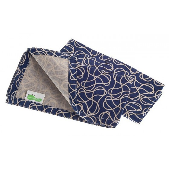 Serviette Set de table coton - Azur - KIDS KONSERVE