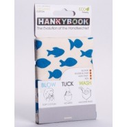 Mouchoir BIO Poissons - Hanky Book