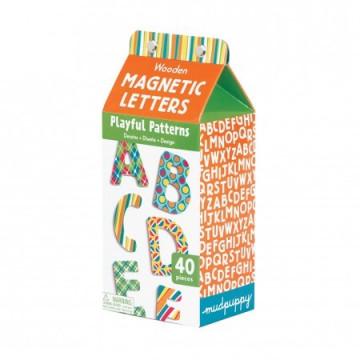 Lettres ABC magnétiques BOIS