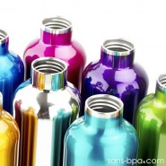 Gourde inox isotherme anti-fuite Cocoon 500 ml - Topaze - Ecococoon