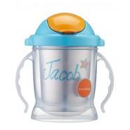 Tasse paille anti-fuite 250 ml - Azur - Inno Baby