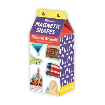 Figurine magnétiques WORLD BOIS