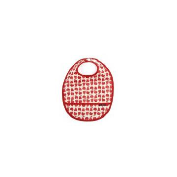 Bavoir pochette coton enduit Bio - FRUIT