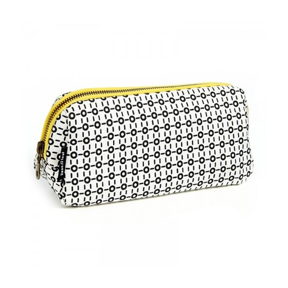 Trousse coton bio - BLACK & WHITE - Keep Leaf