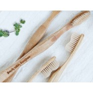 Brosse à dent naturelle Bambou - Brush With Bamboo
