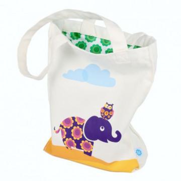 Petit sac tissu ELEPHANT