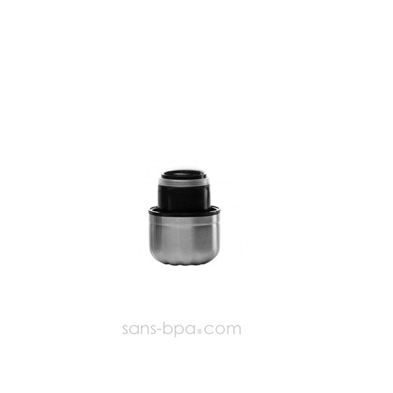 Bouchon inox / PE pour bouteille 500ml Qwetch