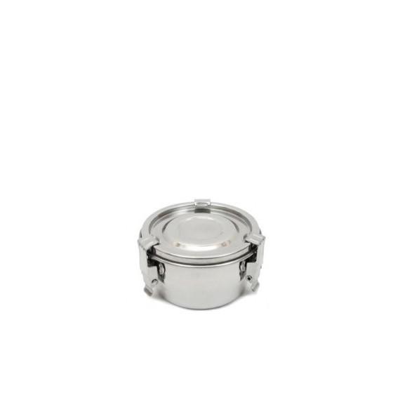 Boite inox diamètre 8 cm
