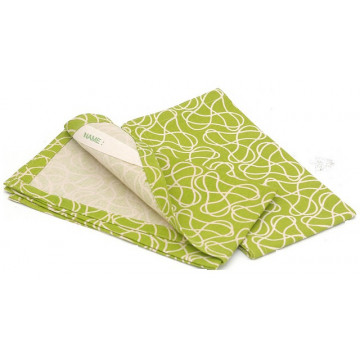 Lot 2 serviettes Set coton recyclé SQUIGGLE