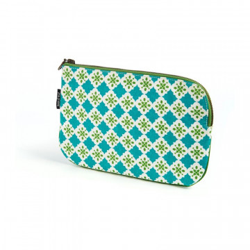 Trousse pochette coton bio GREEN LOWER