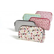 Trousse coton bio BLACK & WHITE