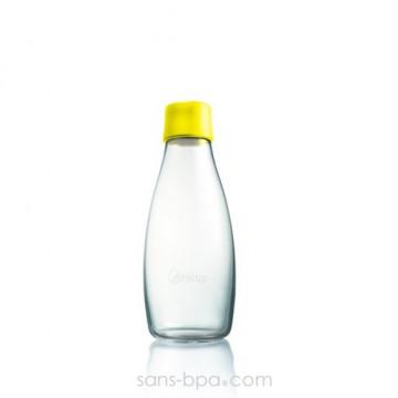 Gourde verre 300 ml - CITRON